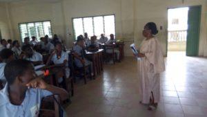 Lucile Batcho de Fraternaide à Cotonou